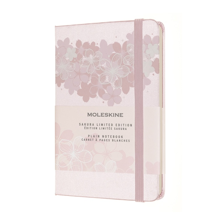 Hardcover Pocket Sakura Limited Edition - Light Pink i gruppen Papir & Blok / Skriv og noter / Notesbøger hos Pen Store (100458)
