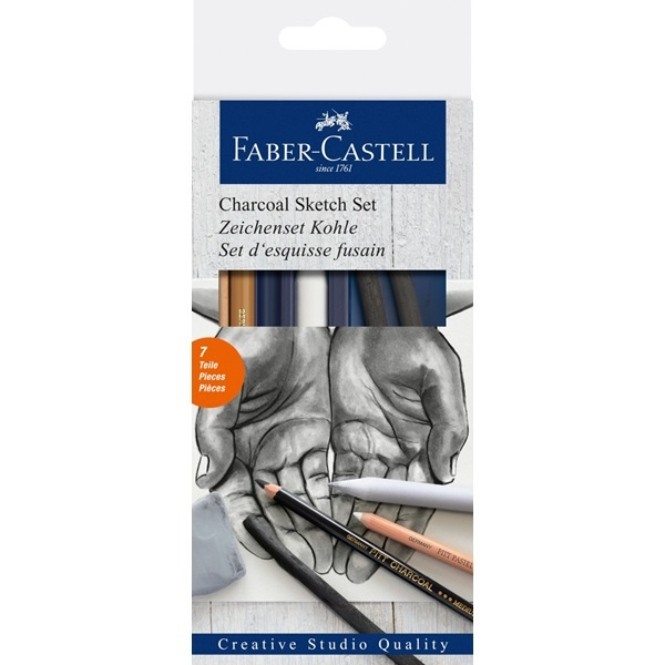 Drawing Set Charcoal i gruppen Penne / Skrive / Blyanter hos Pen Store (106536)