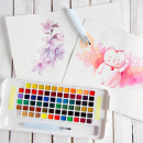 Koi Water Colors Sketch Box 72