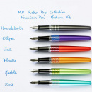 MR Retro Pop Fountain Pen Metallic Light Blue